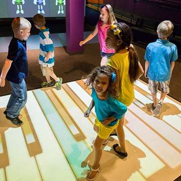 EyePlay Interactive Floor Encourages Natural Motion and Active Play