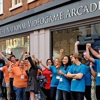 National Videogame Arcade Opens in Nottingham