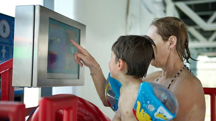 iSlide Brings Interactive Games to Water Parks