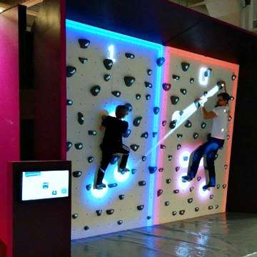 Augmented Climbing Wall Creates Value for Business Owners