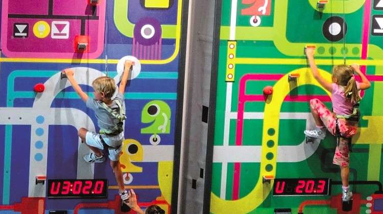 Fun Walls Introduce Interactive Climbing Adventure to Amusement and Activity Parks