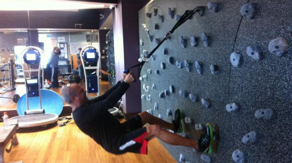 Indoor Rock Climbing with Freedom Climber - Fitness Gaming