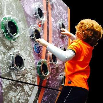 TrailBlazer Traverse Climbing Wall for Gyms and Play Centres