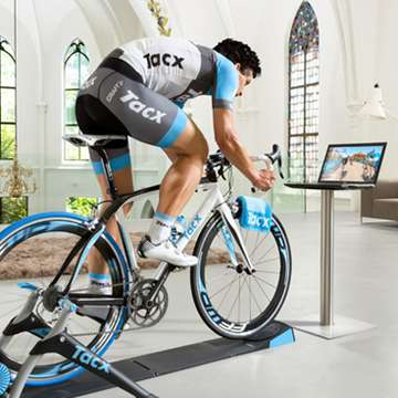 Tacx i-Genius Multiplayer Offers Realistic Virtual Rides and Web Races