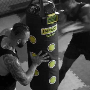 Impact Wrap Turns Heavy Bags Smart to Deliver More Effective Boxing Workouts