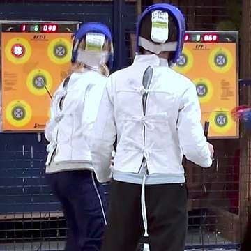 EFT-1 Electronic Target Challenges Users to Improve Their Fencing Skills