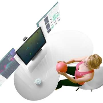 SunBall Exercise Ball Uses Biofeedback Games to Speed up Recovery