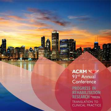 ACRM Annual Conference Presents the Latest in Rehabilitation Research