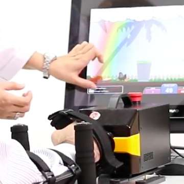 Fibod Balance Board and CR2-Haptic Robot Use Immersive Technologies for Rehabilitation Training