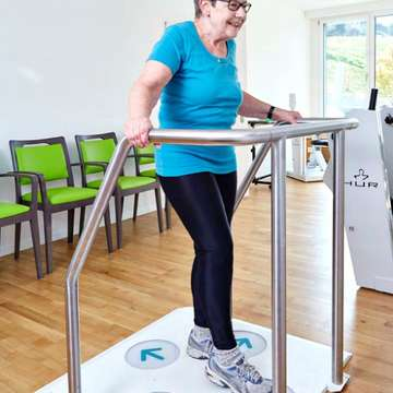 Dividat Senso Trains Gait Stability to Reduce Risk of Falls