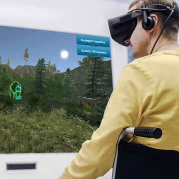 RehabWall Improves Functional Mobility with Virtual Games