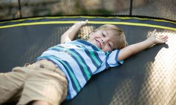 Trampoline Therapy with Springfree Trampoline