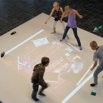 Interactive Learning Floor Installed in Ipswich Primary School