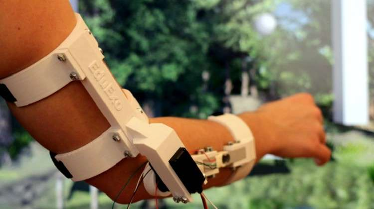 EduExo Teaches Users How to Build Their Own Robotic Exoskeleton