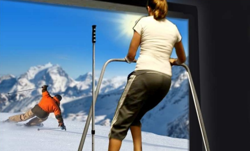 Pro Ski Fit 360 Simulator For Virtual Ski Experience