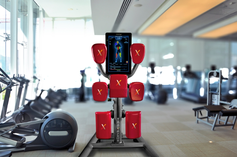 Nexersys combines boxing and hiit with intelligent gaming